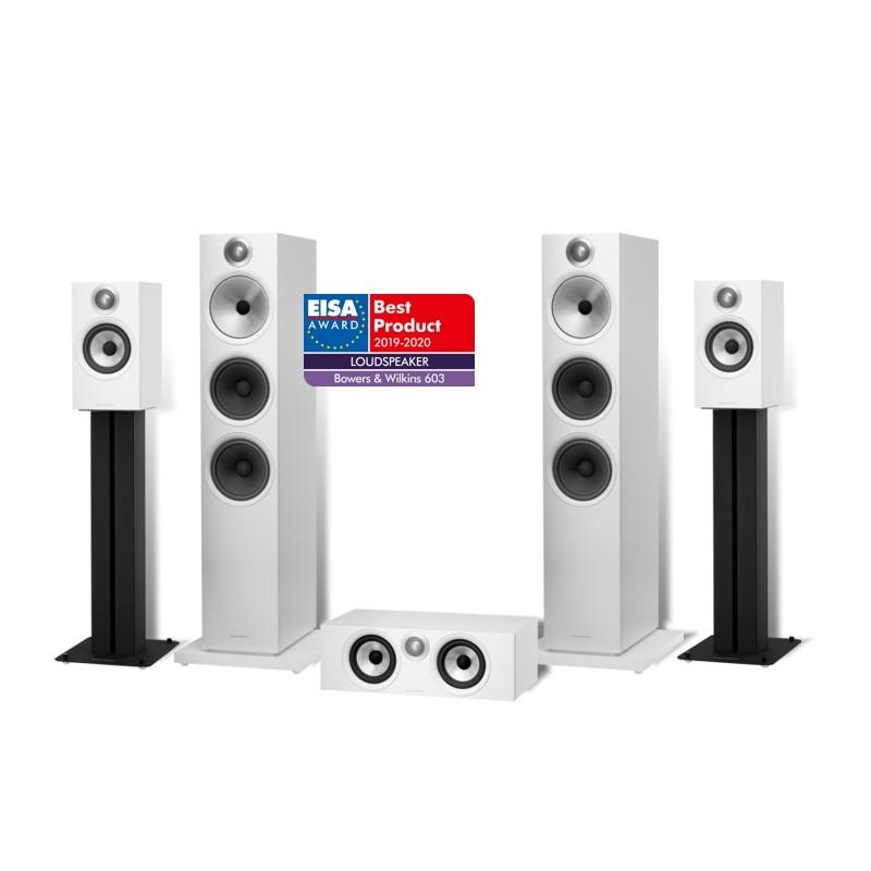 BOWERS & WILKINS PACK HOME CINEMA ( Cajas acusticas 603 + 607 + HTM6 )