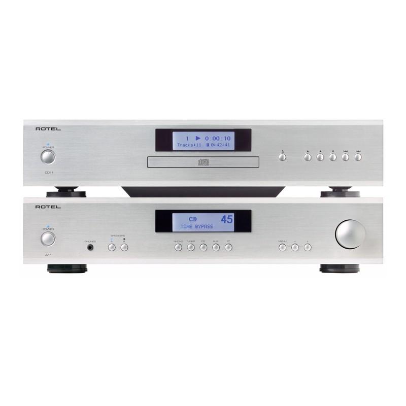 ROTEL A11 + CD11 ( Amplificador + CD )