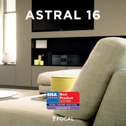 FOCAL ASTRAL 16 (A/V + AMPLIFICADOR)