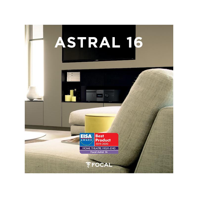 FOCAL ASTRAL 16 (A/V + AMPLIFICADOR)
