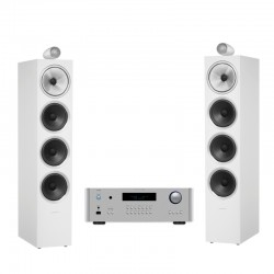BOWERS & WILKINS 702 S2 + ROTEL RA-1592